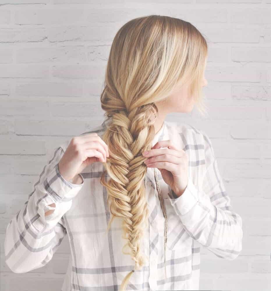 kassinka-fishtail-braid-hair-tutorial-2, summer hairstyle