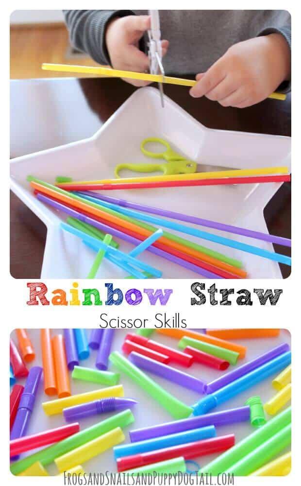 rainbow-straw-scissor-skills