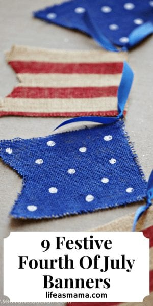 Festive Fourth Of July Banners