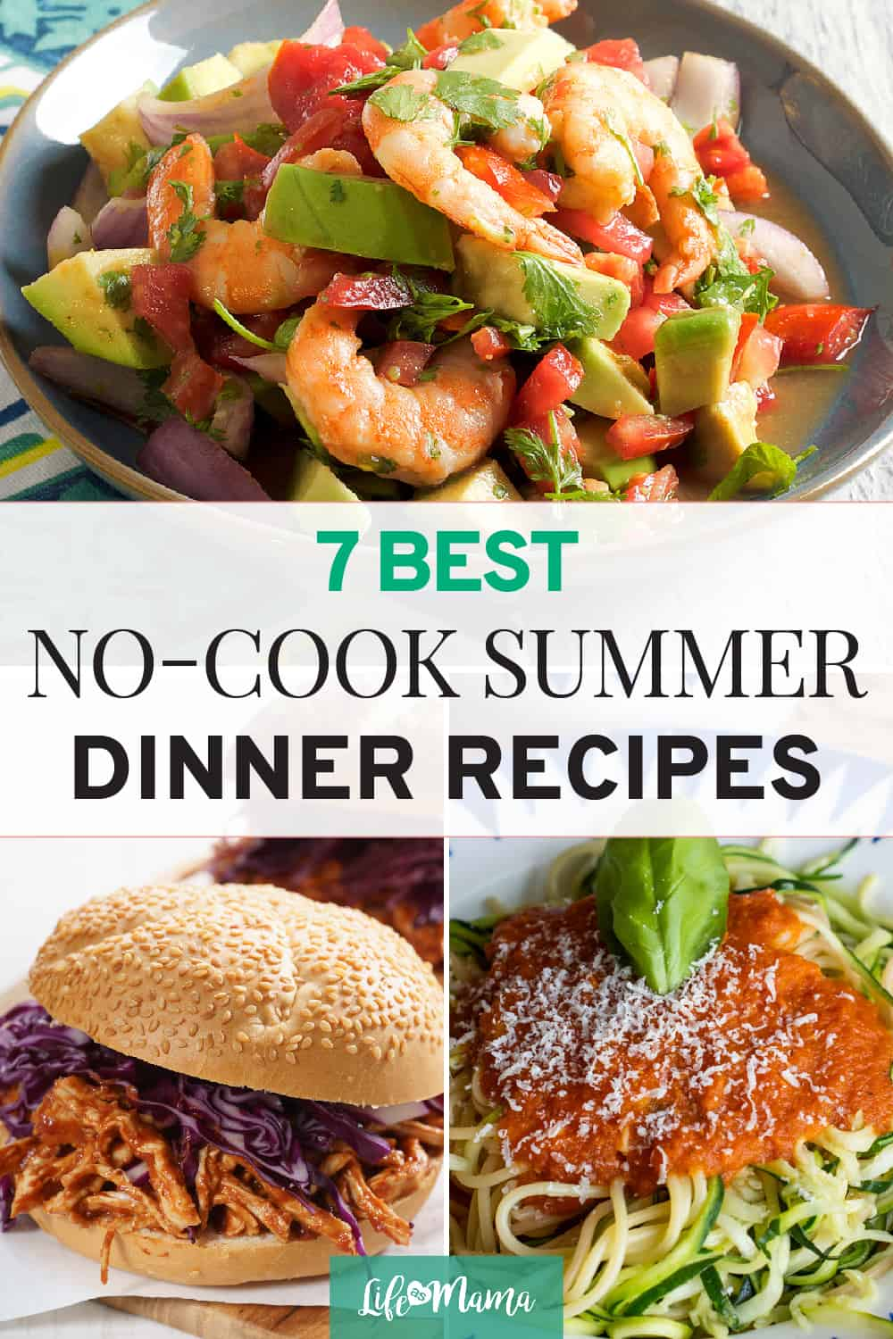7 No-Cook Summer Dinner Recipes, no-cook dinners