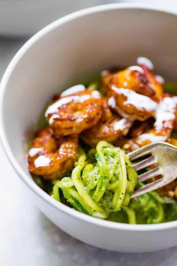 Pesto-Noodles-with-Shrimp-4-600x900