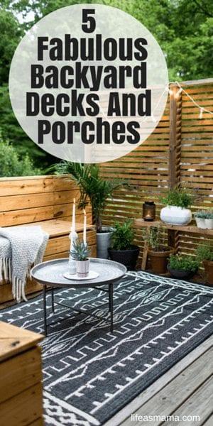 5 Fabulous Backyard Decks And Porches