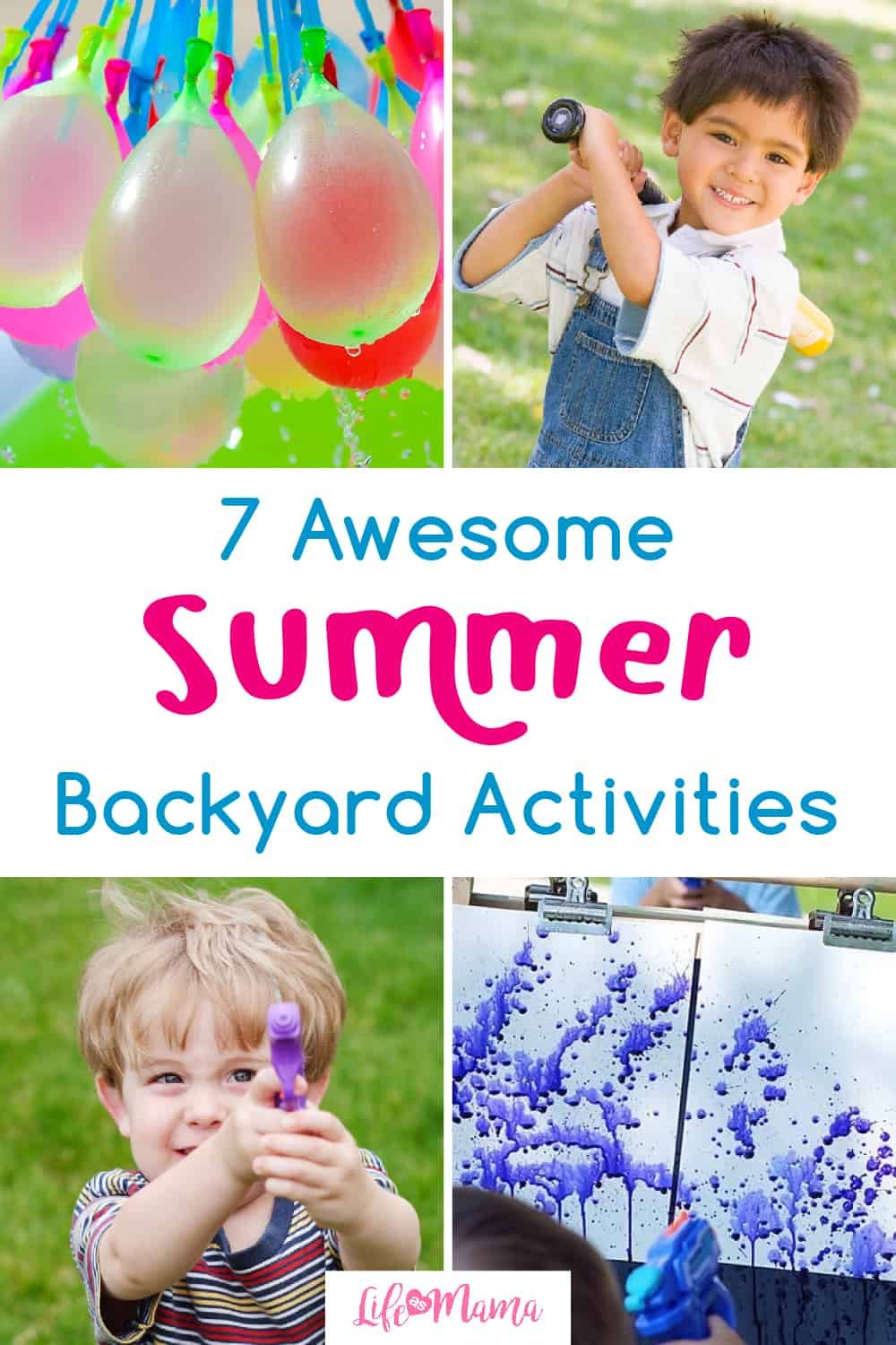7 Awesome Activities For Your Backyard This Summer