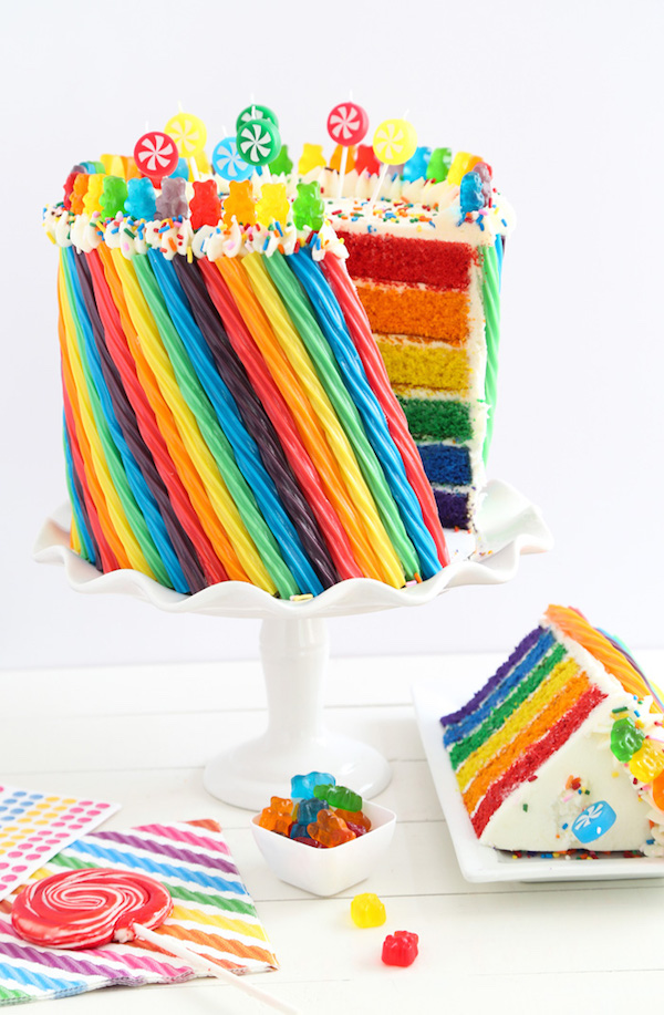 Rainbow Candy Cake 3