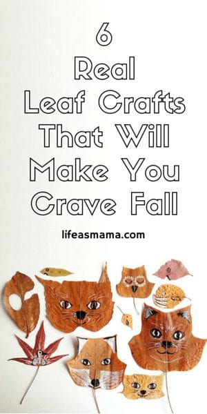 Real Leaf Crafts That Will Make You Crave Fall