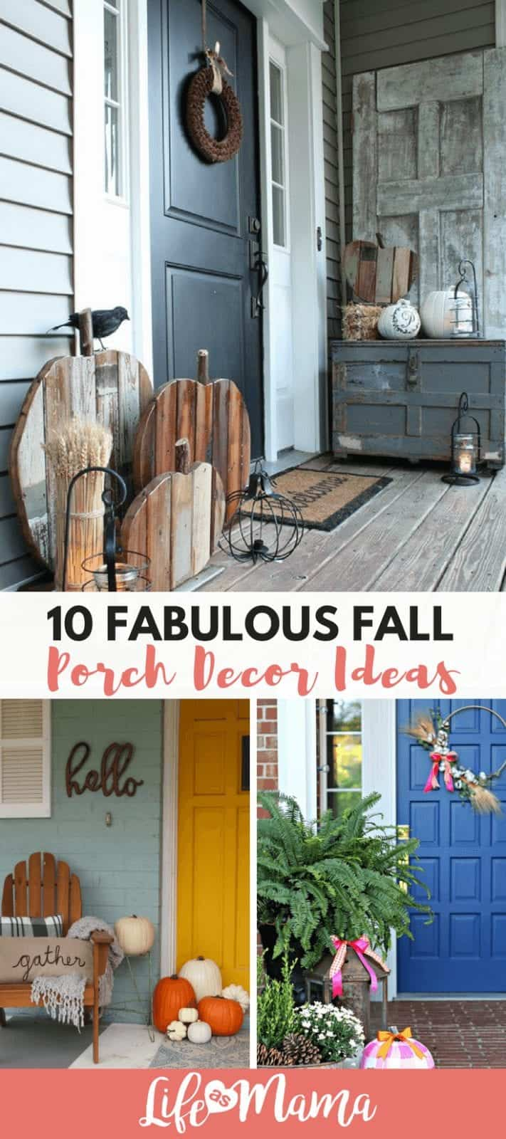 10 Fabulous Fall Porch Decor Ideas
