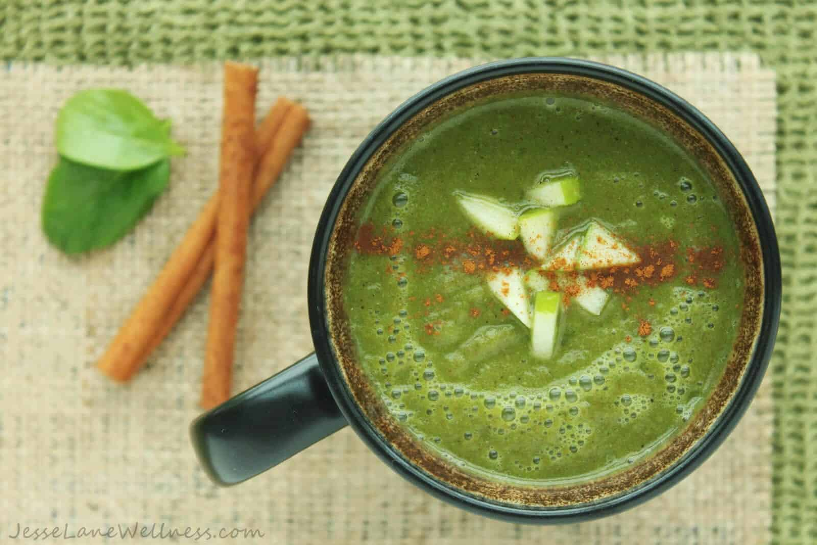 Hot-Apple-Cider-Smoothie-by-@JesseLWellness-smoothie
