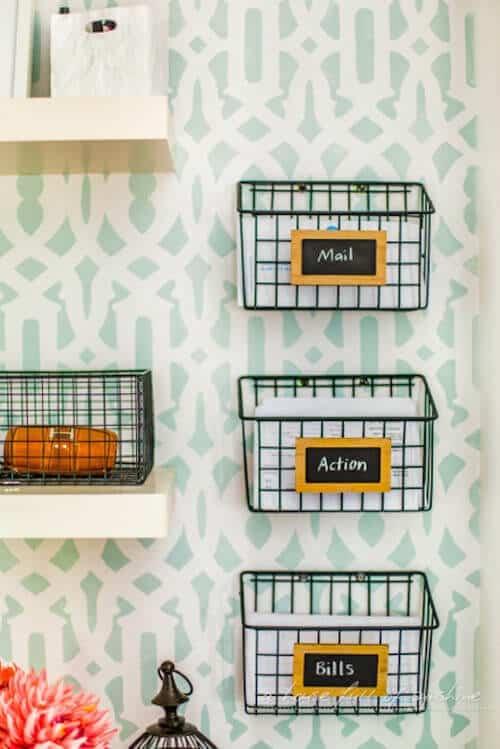 Mail-baskets