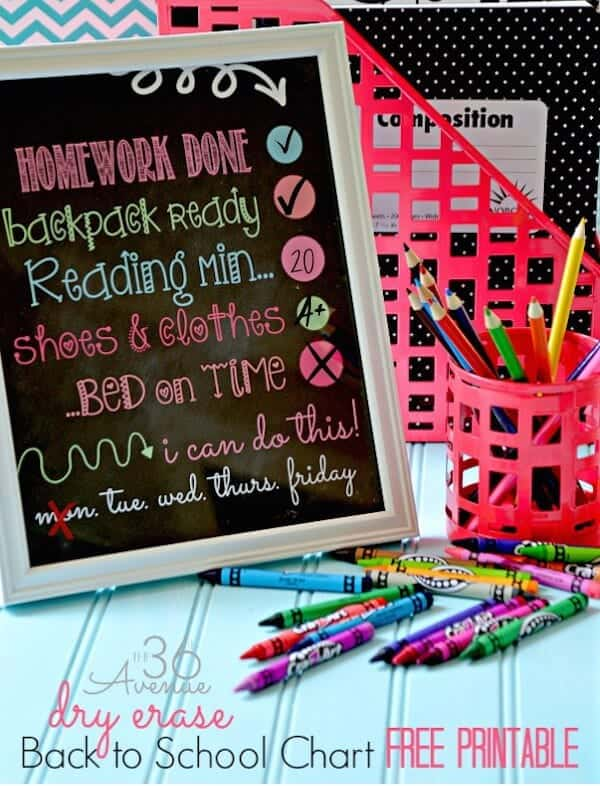 back-to-school-homework-chart-at-the36thavenue-com_