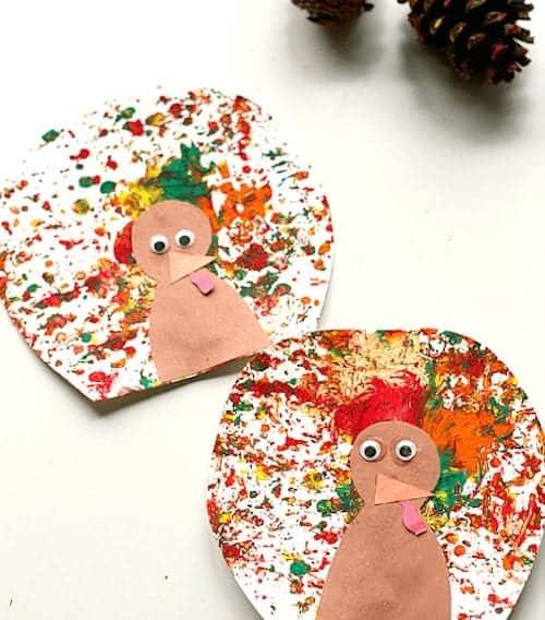 pinecone-painting-thanksgiving-turkey-craft