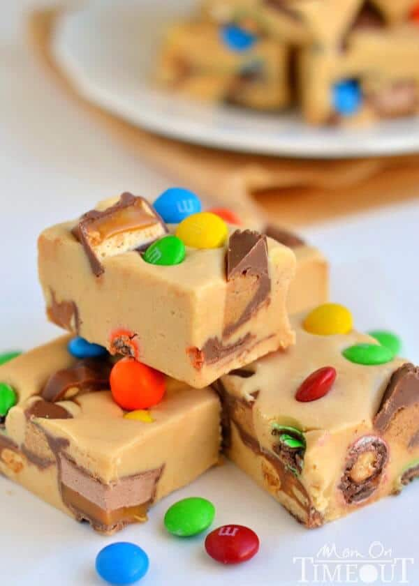 easy-peanut-butter-candy-bar-fudge-recipe