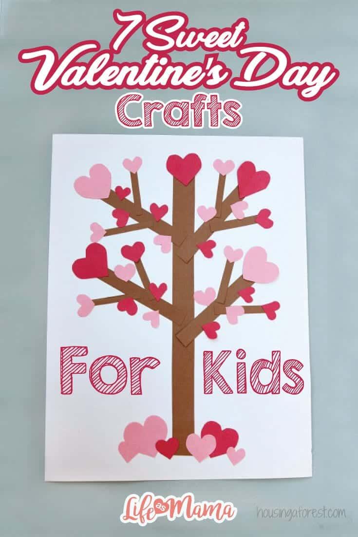 7 Sweet Valentine's Day Crafts For Kids