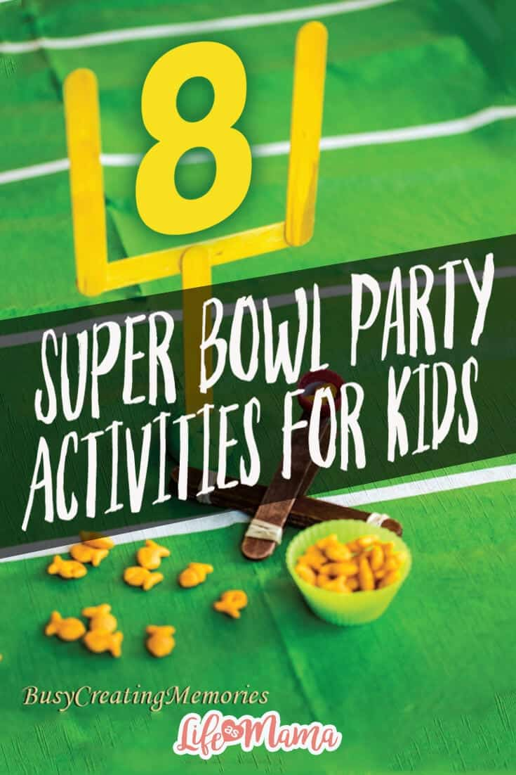 super bowl party activities