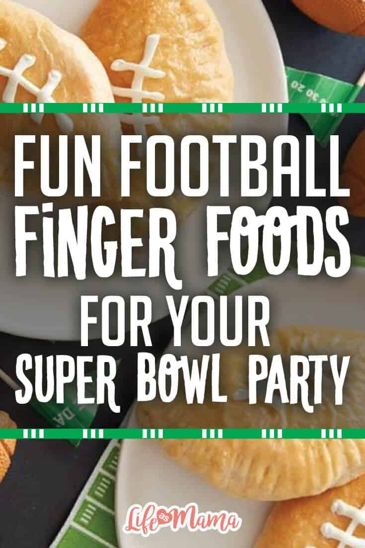 football finger foods