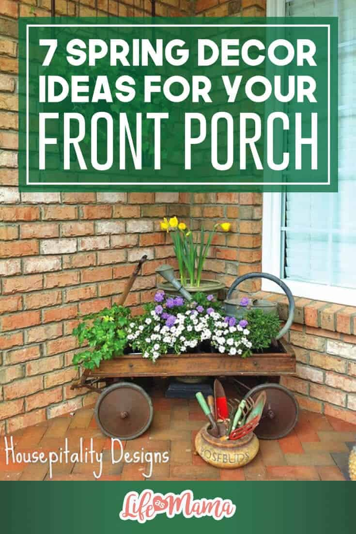 7 Spring Decor Ideas For Your Front Porch