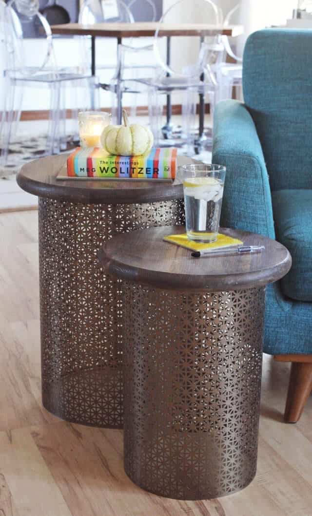 Brass Side Tables