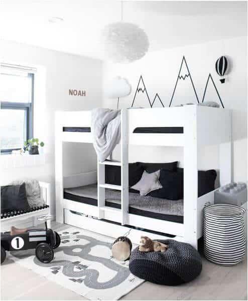 gender-neutral bedrooms