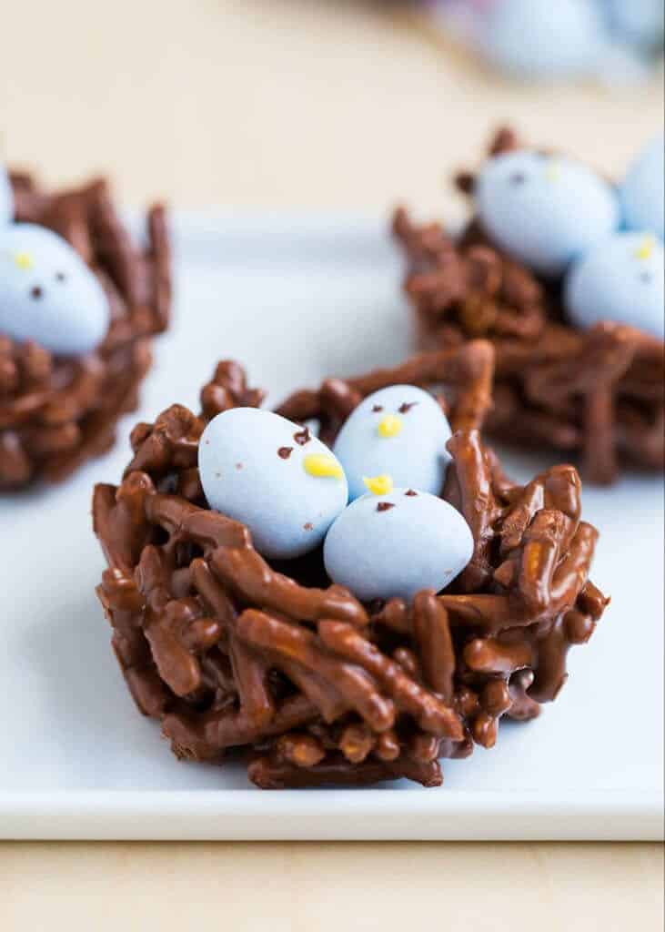 Cadbury Egg Birds Nest