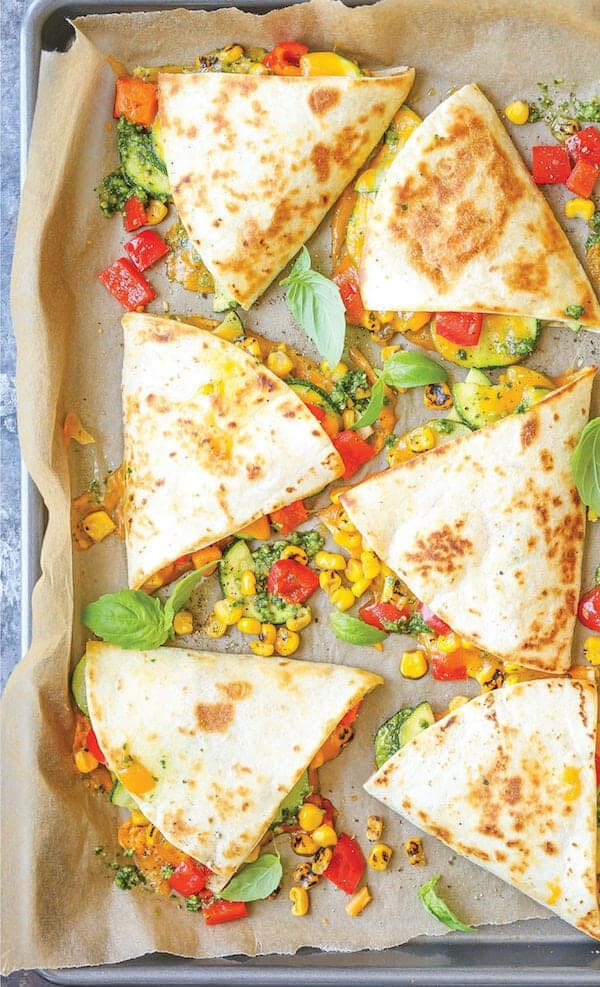 Healthy Quesadillas
