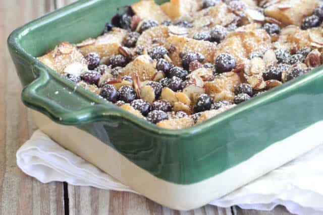 Blueberry Almond French Toast