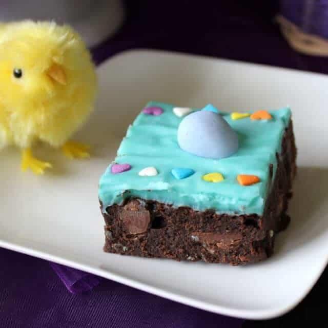 Chocolate Easter Brownies
