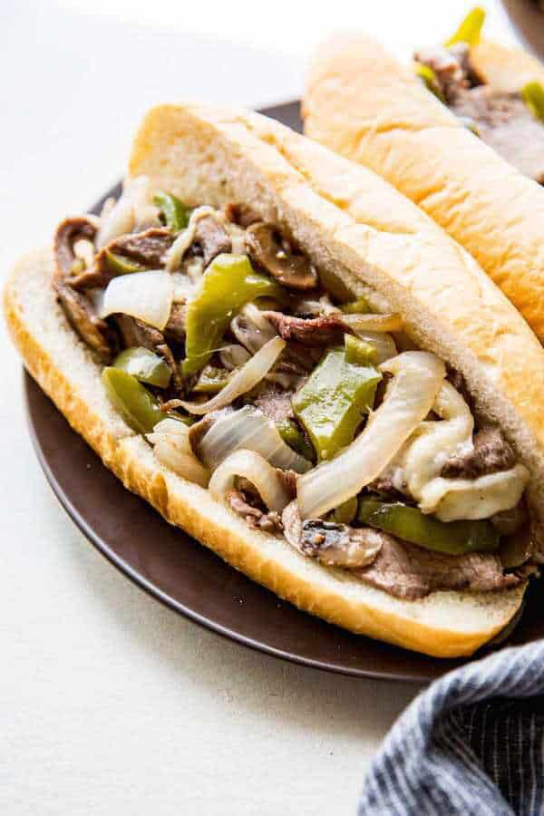 Sheet Pan Philly Cheesesteaks