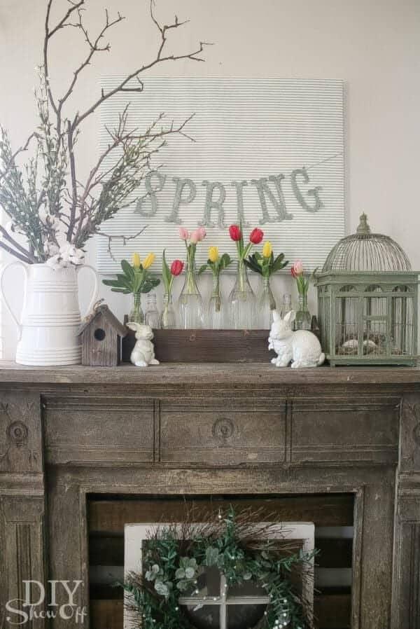 spring mantles