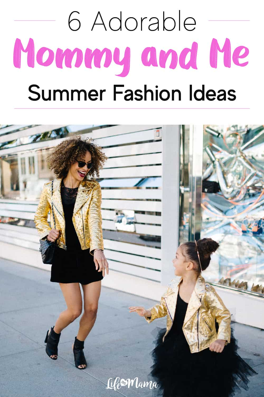 6 Adorable Mommy and Me Fashion Ideas For Summer