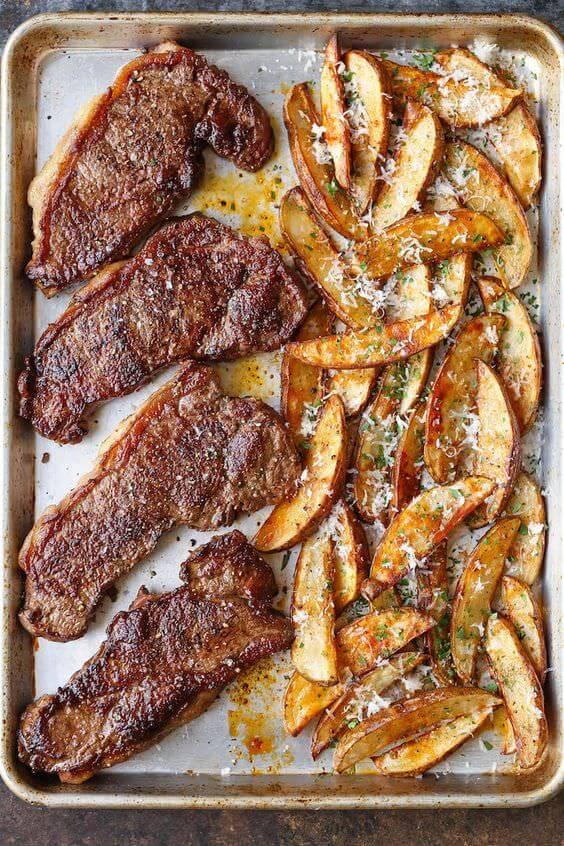 Steak dinner recipes