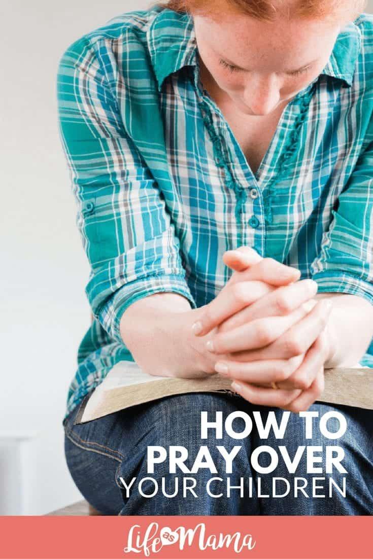pray over your children
