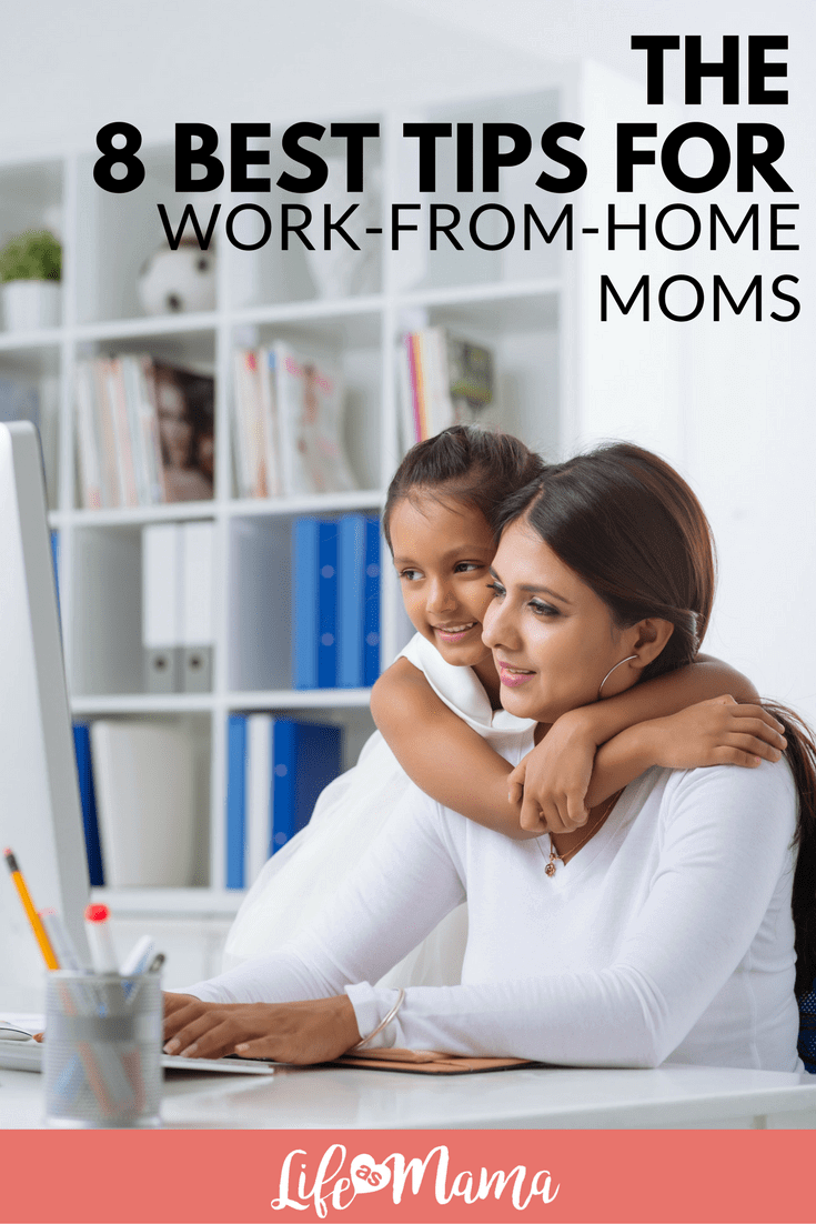 work-from-home moms