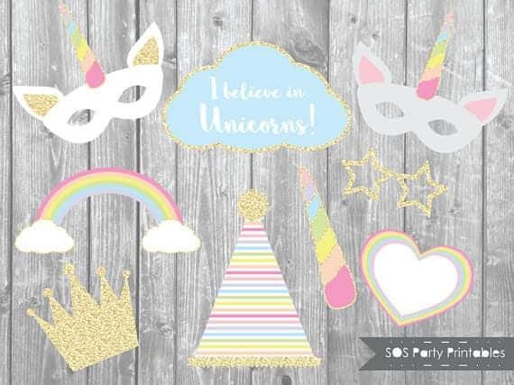 unicorn-themed party