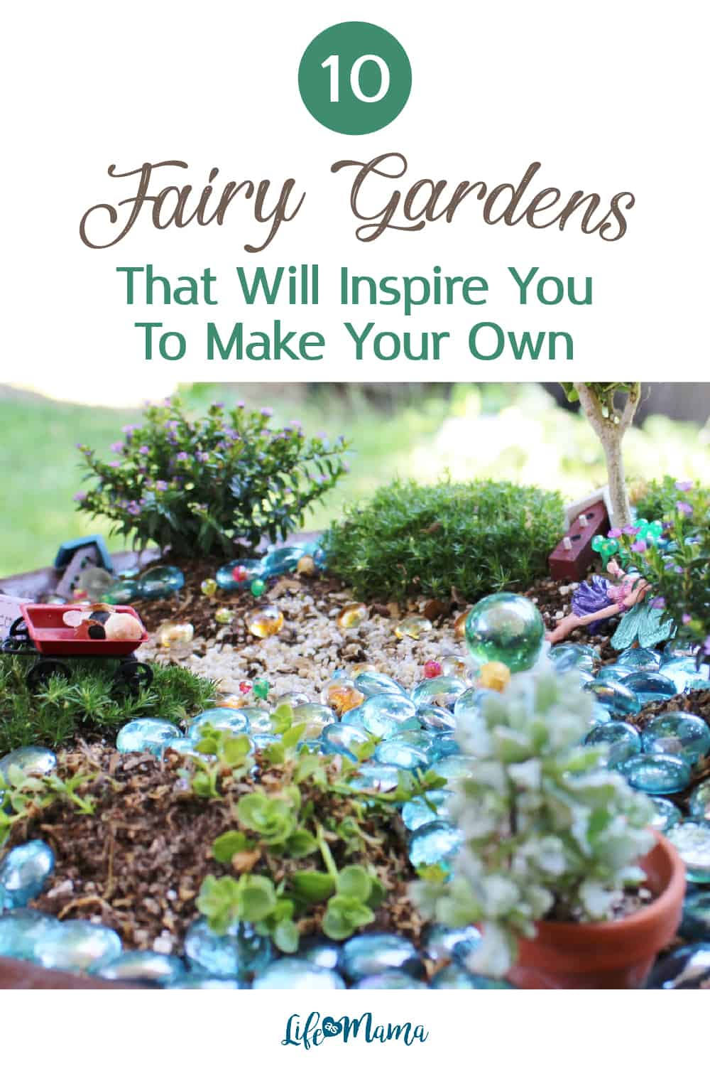 fairy gardens to inspire you to make your own