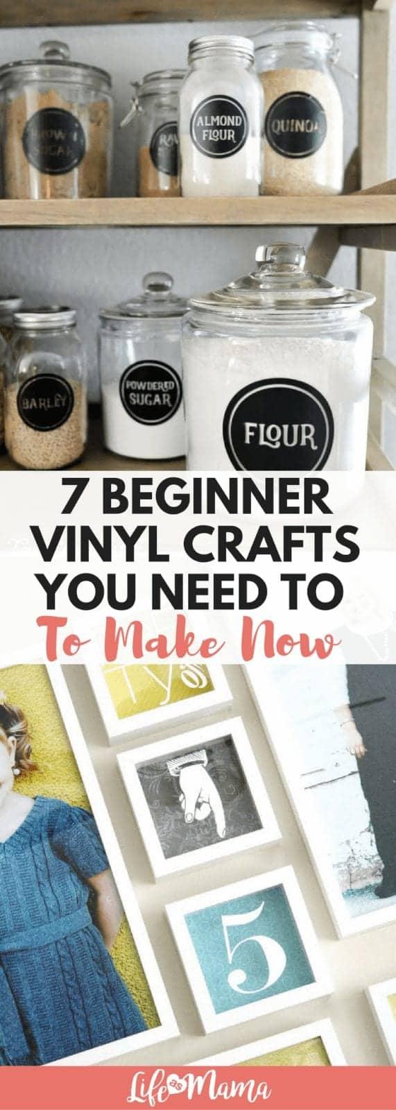 vinyl crafts
