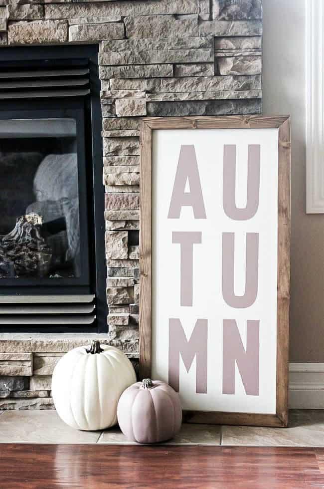 Fall DIY signs