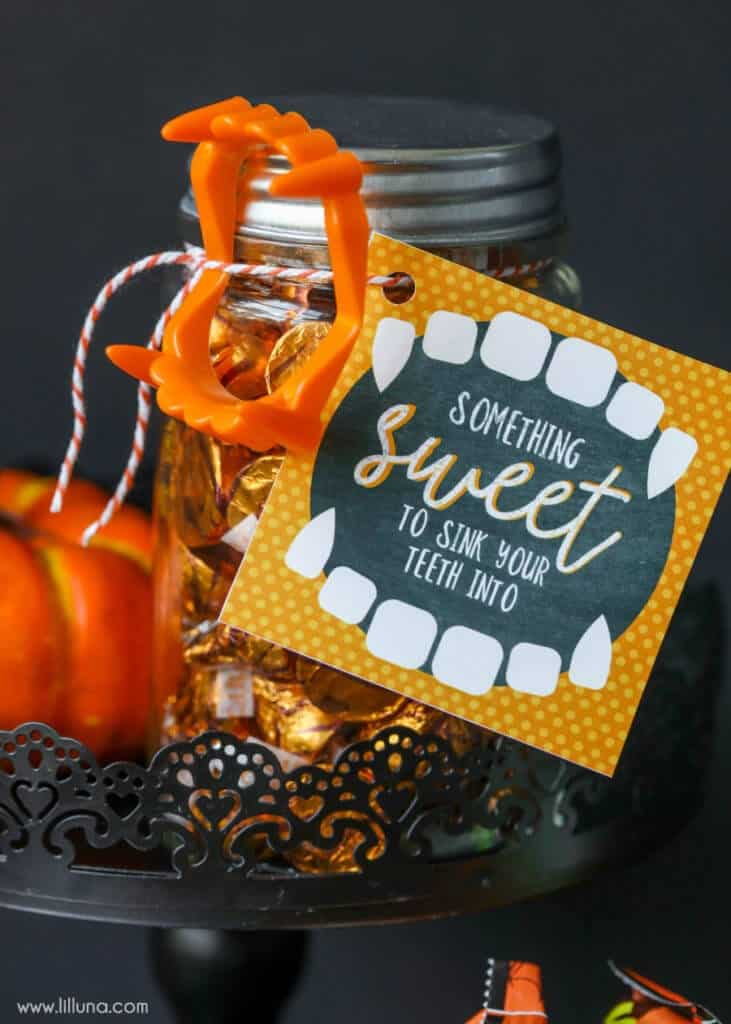 Halloween teacher gifts