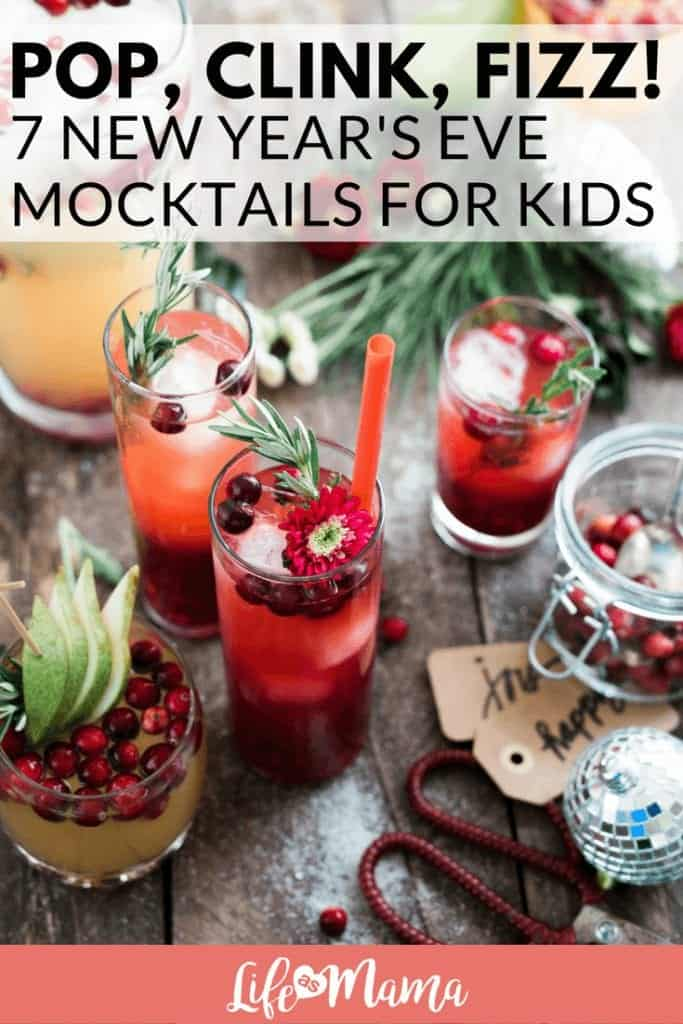 New Year's Eve mocktails for kids