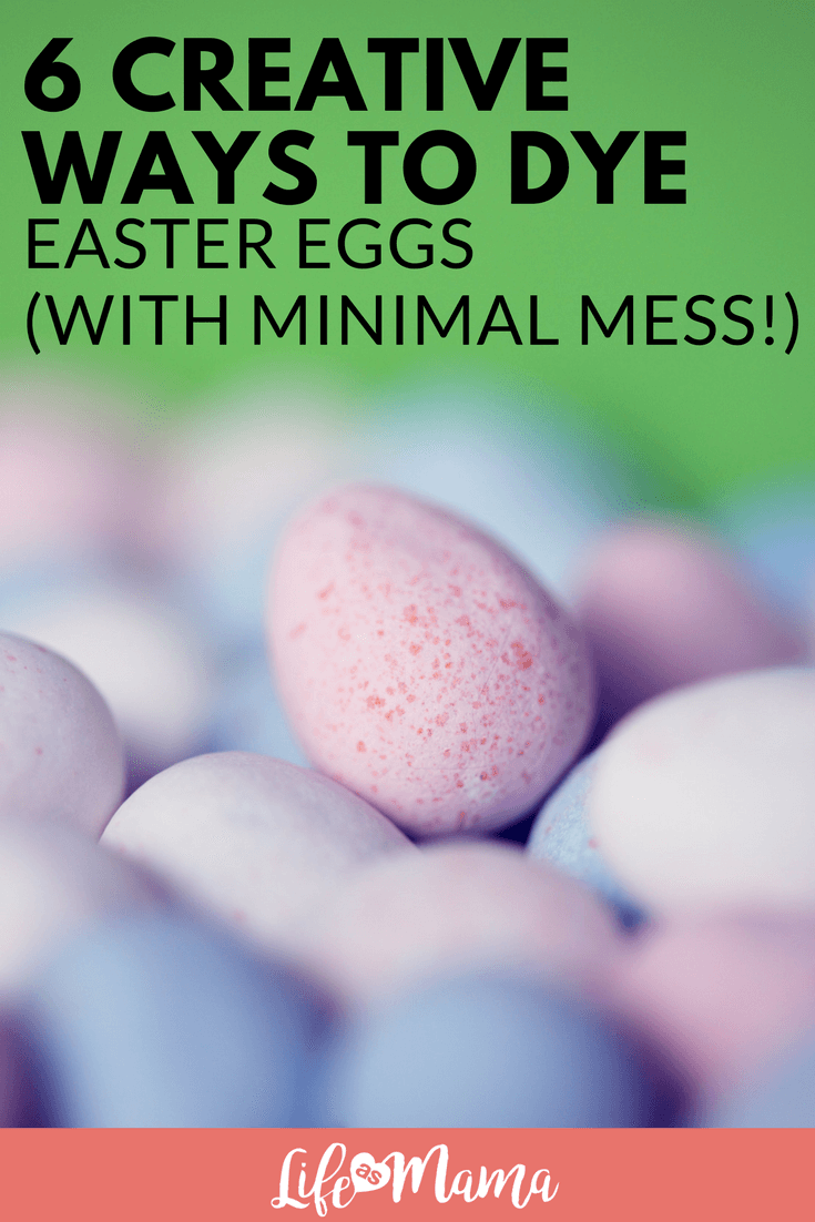 dye easter eggs