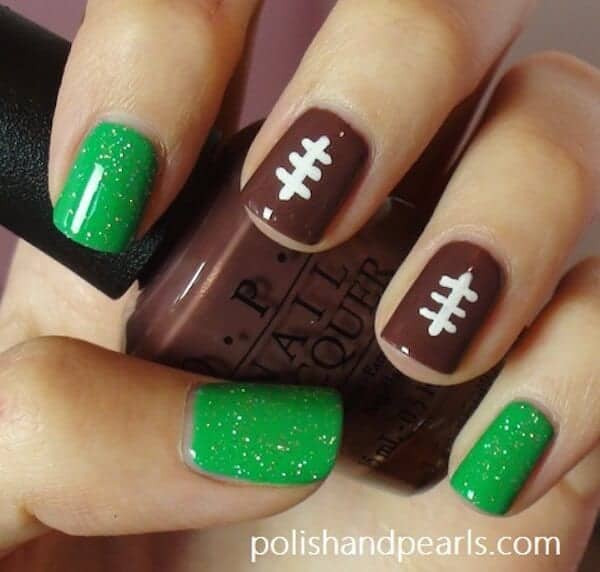 super bowl manicures