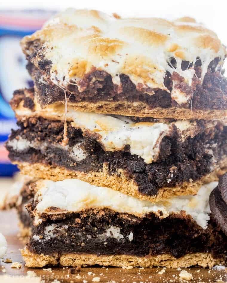 s'mores stuffed desserts