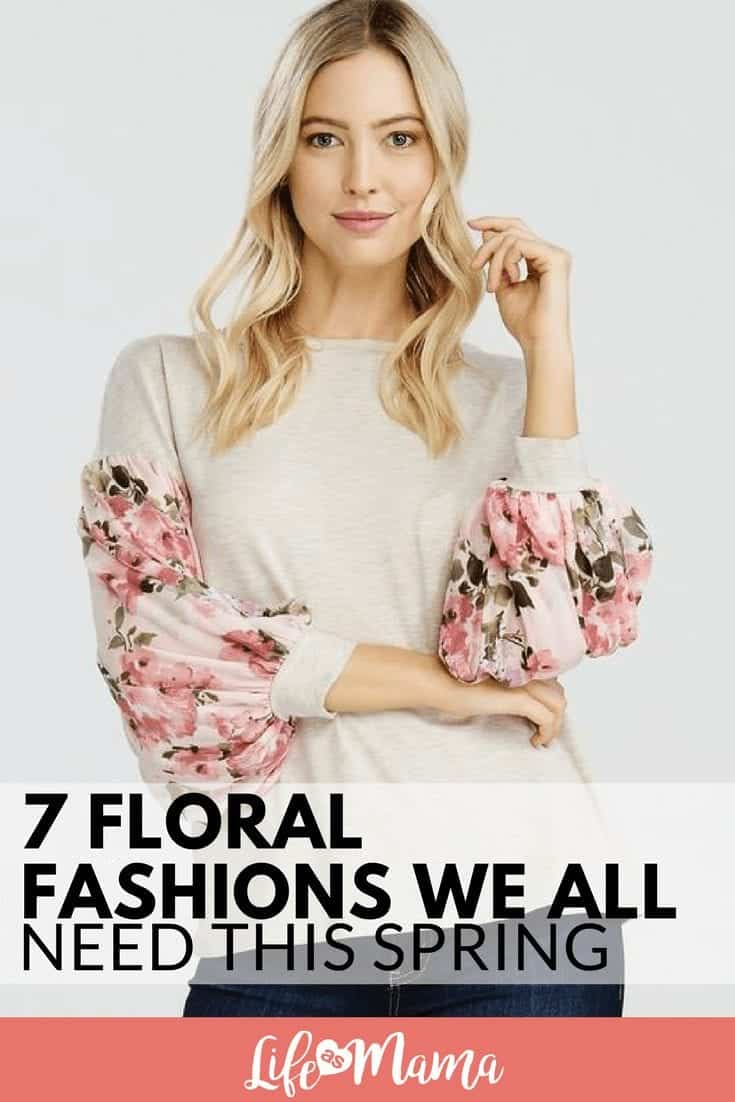 7 Floral Fashions We All Need This Spring