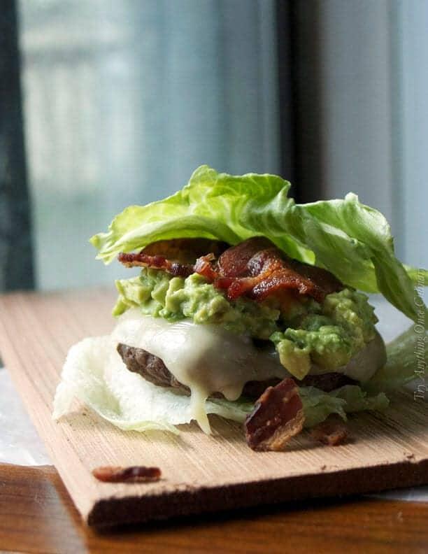 breadless hamburger