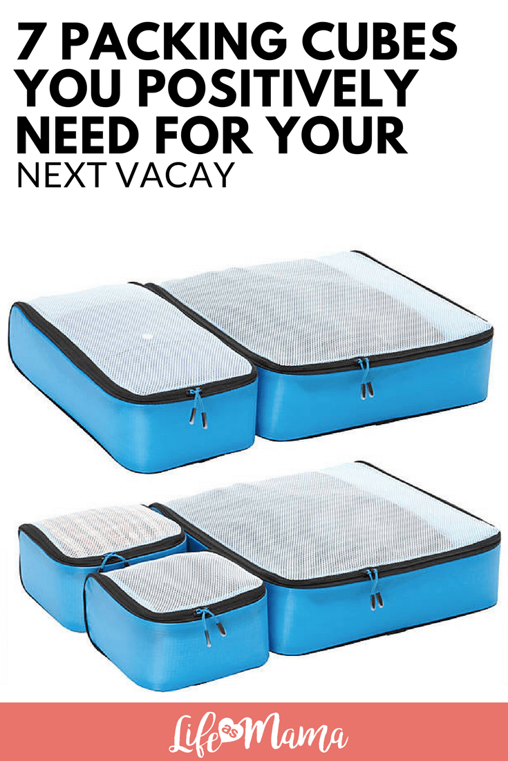 7 Packing Cubes You Positively Need For Your Next Vacay