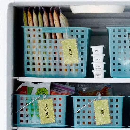 Freezer Organizing Hacks