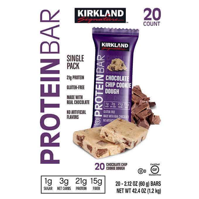 low-sugar protein bars