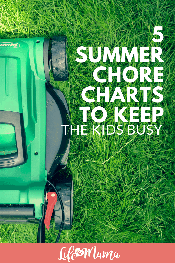 5 Summer Chore Charts To Keep The Kids Busy.1