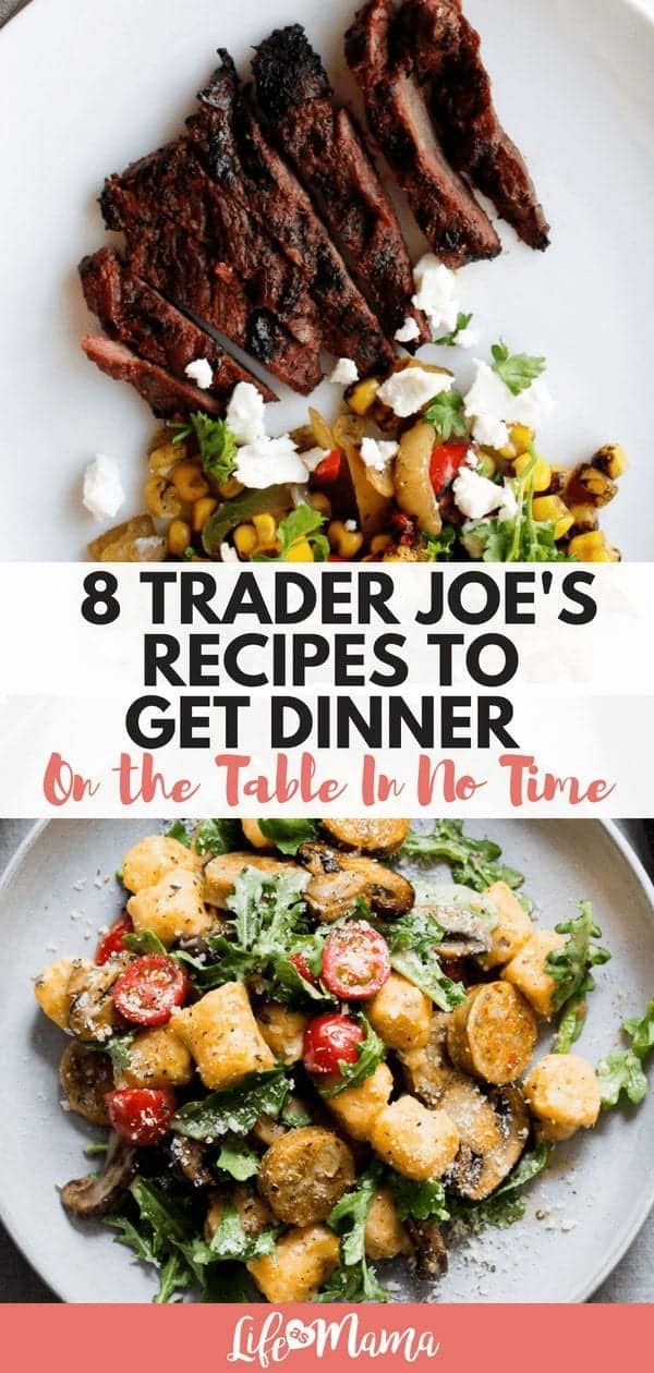 8 Trader Joe's Recipes To Get Dinner On The Table In No Time