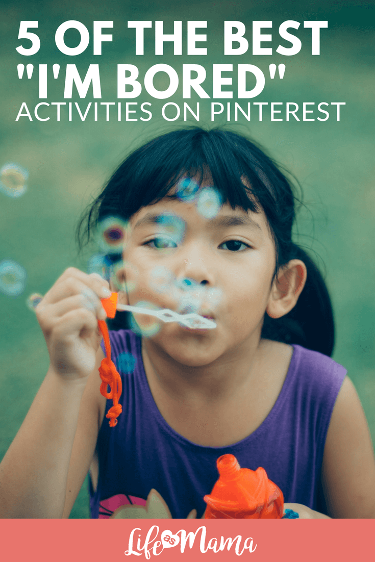 5 Of The Best I'm Bored Activities On Pinterest