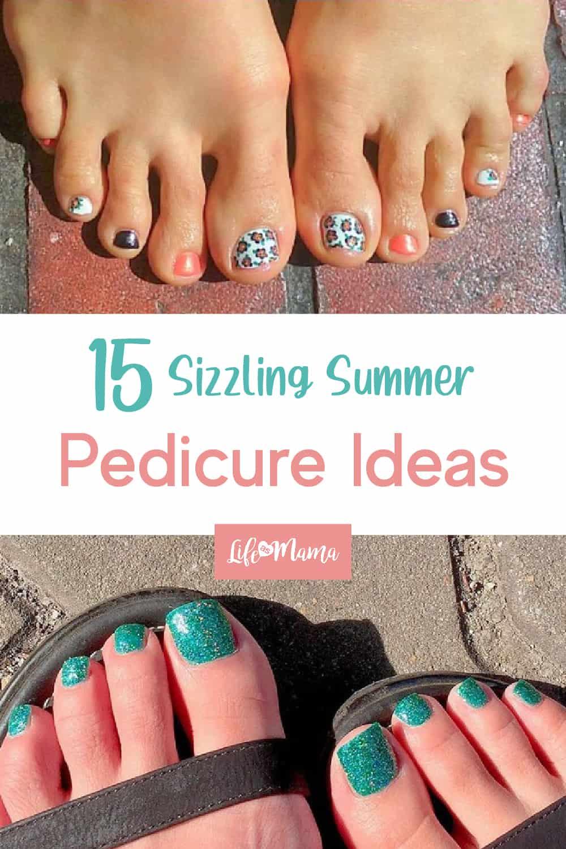 summer pedicure colors