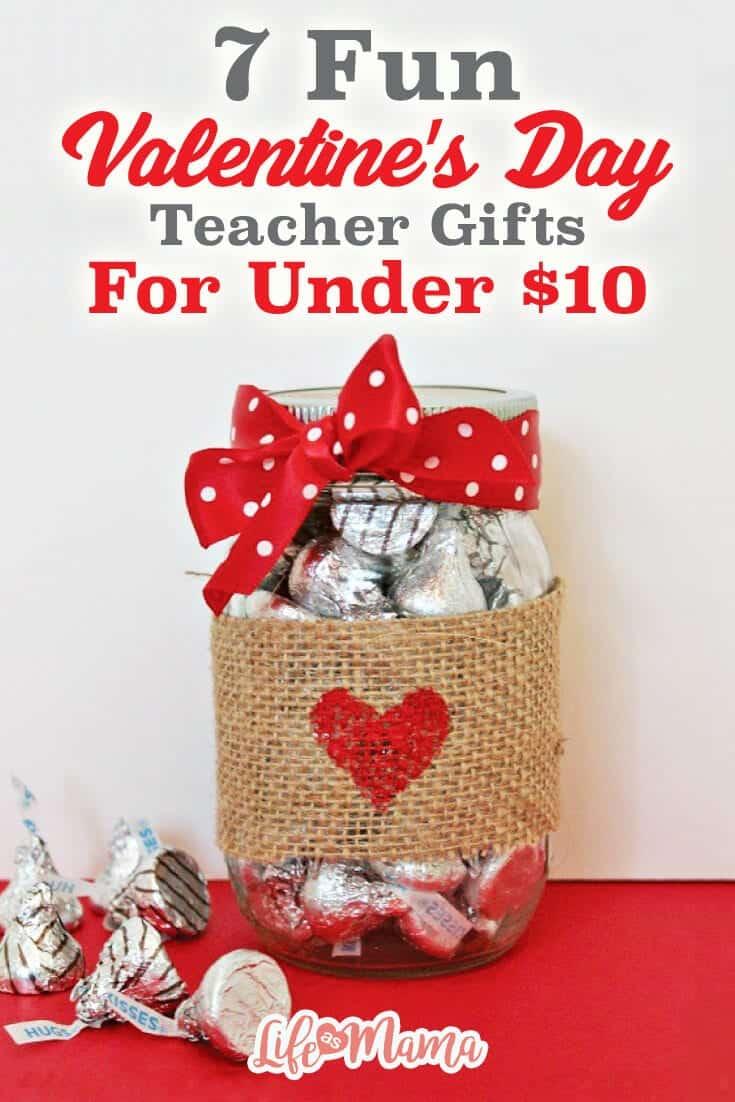 7 Fun Valentine S Day Teacher Gifts For Under 10